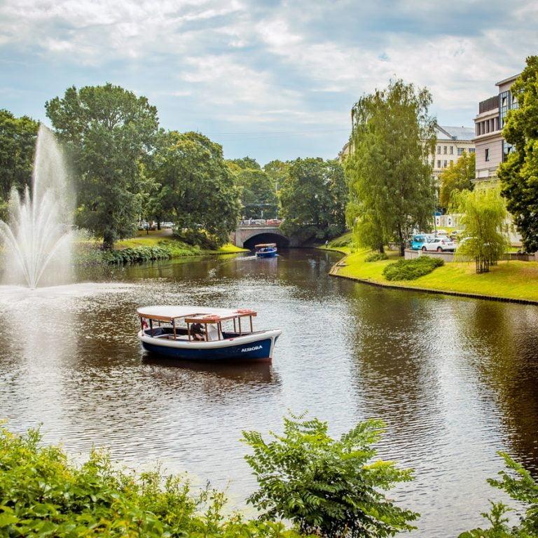 שייט בנהר של ריגה