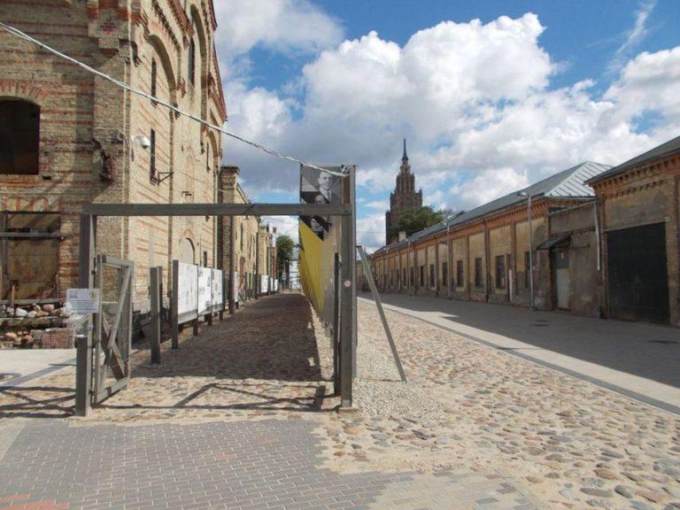 הגטו היהודי בריגה