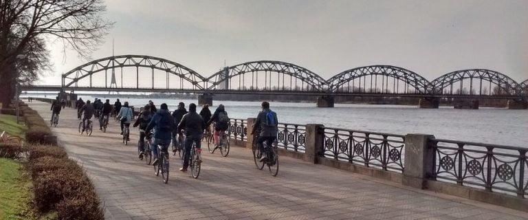 ריגה טיול אופניים