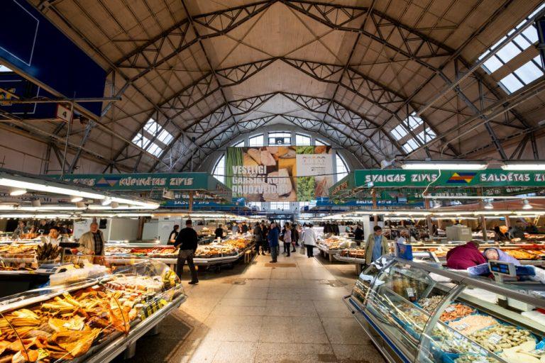 השוק המרכזי של ריגה
